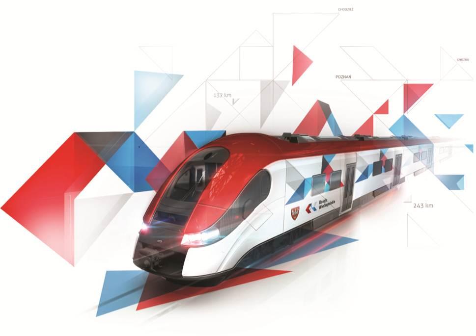 Koleje Wielkopolskie wizualizacja pociągu